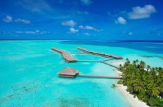 Still Looking For Paradise? Maldives: Crystal clear waters and azure blue lagoons.