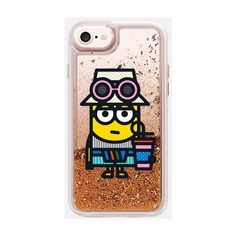Minions x Casetify iPhone Cases Collection - Casetify ❤ liked on Polyvore featuring accessories, tech accessories, iphone cover case, glitter iphone case, iphone cases, iphone sleeve case and apple iphone case