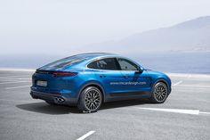 Porsche Macan Coupé > Photoshop renderings by Remco Meulendijk