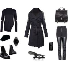 """Black & The City"" by black-blessed on Polyvore"