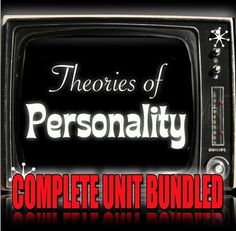 Psychology: Entire Personality Unit - Powerpoint Lectures, Handouts, Role-play, Quiz, Video Links - Lesson Plans included. This Personality unit has 7-10 days worth of lessons. I have used this for both AP Psychology and regular classes. Each lesson begins with a warm-up, Powerpoint lecture, a review handout or activity and a Exit Ticket.