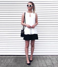 de hoje com dress minimalista da  mofficerofficial ❥ que tal  • tem foto  dele 3ea281876dc
