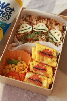 Check out this entry in Wish I had WetOnes in my lunchbox!