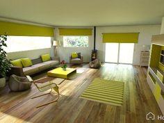 Green, zen and natural home decor