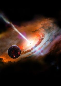 Some worlds drift in the lanes of our galaxy, unattached to any one star or solar system, and like the stars, they can be swept up by a massive black hole.