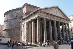 Pantheon ~ An architectural wonder that I felt a spiritual attachment to as soon as I entered the building. Oh The Places You'll Go, Cool Places To Visit, Beautiful Buildings, Beautiful Places, Italy Travel, Rome Travel, Life Is A Journey, London Travel, Monuments