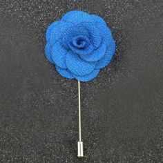 Solid Floral Pin