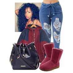 A fashion look from February 2015 featuring adidas jackets, UGG Australia ankle booties und The Limited shoulder bags. Browse and shop related looks. Lit Outfits, Chill Outfits, Dope Outfits, Casual Outfits, Fashion Killa, Look Fashion, Teen Fashion, Fashion Outfits, Tomboy Fashion