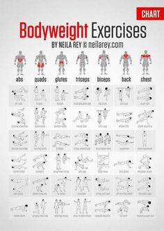 Bodyweight Exercises Chart - Full Body Workout Plan To Be Fit Ab - PROJECT NEXT - Bodybuilding & Fitness Motivation + Inspiration - hopefully this won't make me looking like the Hulk, but I do love me some body weight exercises Body Fitness, Health Fitness, Fitness Diet, Fitness For Men, Mens Fitness Model, Physical Fitness, Enjoy Fitness, Fitness Blogs, Woman Fitness