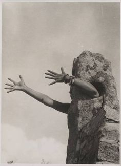 Claude Cahun - out of rock