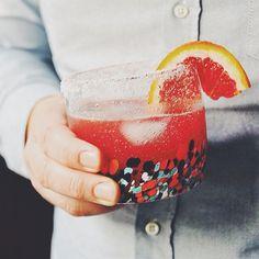 Blood Orange Margaritas - Turntable Kitchen