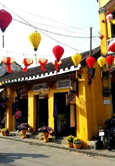 The vibrant and colorful streets of Hoi An, Vietnam