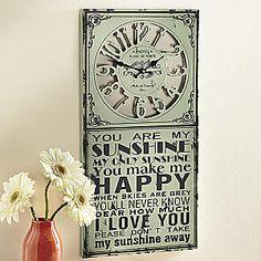 Clocks - Wall Clocks, Hanging Clocks from Seventh Avenue ®