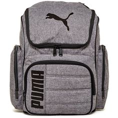 PUMA Equation Gear Backpack (46 AUD) ❤ liked on Polyvore featuring bags…