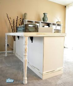 DIY Dresser into Desk