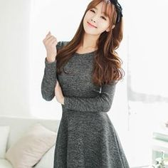 Buy 'Bongjashop – Zip-Back A-Line Minidress' with Free International Shipping at YesStyle.com. Browse and shop for thousands of Asian fashion items from South Korea and more!