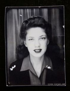 Amazing photos's from the 40s on Vixen Vintage - what an awesome collection