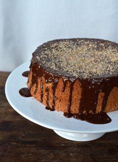 Миндально-цитрусовый торт с шоколадом