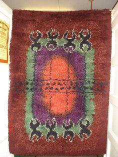 Kiitos T: Leena Rya Rug, Furnitures, Finland, Carpets, Bohemian Rug, Weaving, Patterns, Rugs, Beautiful