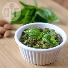 Photo recette : Pesto facile aux amandes grillées
