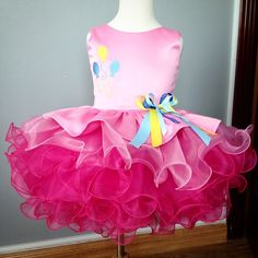 Pinky pie costume/ party dress...wait for picture of the…