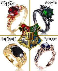 Slytherin & Ravenclaw& are gorgeous! Anel Harry Potter, Mode Harry Potter, Estilo Harry Potter, Arte Do Harry Potter, Harry Potter Merchandise, Harry Potter Jewelry, Harry Potter Style, Harry Potter Outfits, Harry Potter Fandom