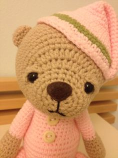 Crochet teddy bear :)