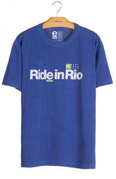 Osklen - T-SHIRT STONE RIDE IN RIO - t-shirts - men