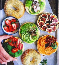 Because bagels make the best breakfast. @anettvelsberg
