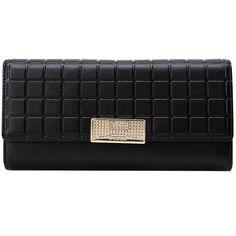 Embossed Metallic Flap Wallet ($42) ❤ liked on Polyvore featuring bags, wallets, wallet, metallic wallet, embossed bag, flap wallet, embossed wallet and metallic bag