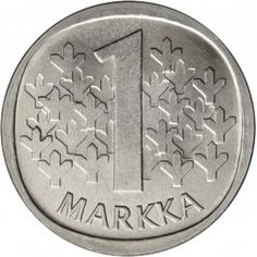Suomi 1969 1 Markka S KL9 1980s Childhood, My Childhood Memories, Helsinki, History Of Finland, Nostalgia, Good Old Times, New Things To Learn, My Memory, Coin Collecting