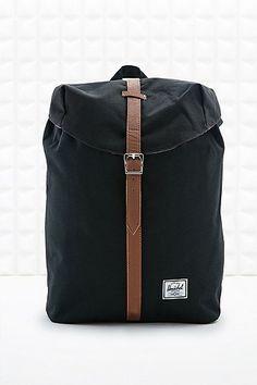 b04f2631e3ce Herschel Post Backpack in Black - Urban Outfitters Herschel Backpack