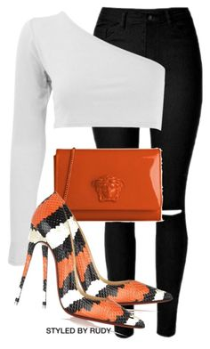 """""""Untitled #698"""" by styledbyrudy ❤ liked on Polyvore featuring Christian Louboutin"""