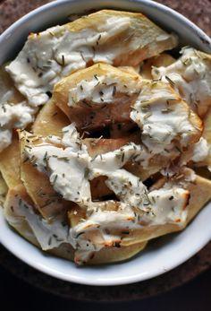 Breakfast's time!: pieczone jabłko z kozim serem!