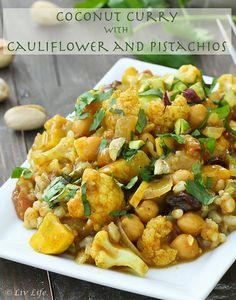 Coconut Cauliflower Curry