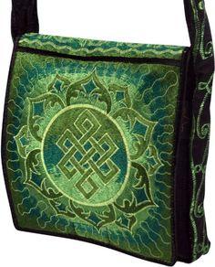 Guru Shop De valentino small lock embroidered leather bag luisaviaroma