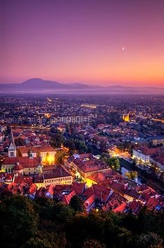 Ljubljana, Capital of Slovenia in Central Europe. Places Around The World, Oh The Places You'll Go, Places To Travel, Places To Visit, Around The Worlds, What A Wonderful World, Beautiful World, Beautiful Places, Malta