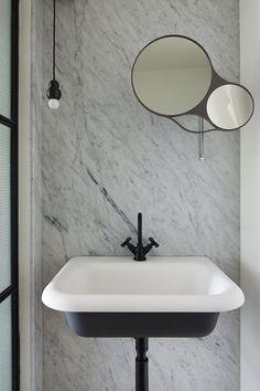 Black Basin & Taps - Hecker & Gutherie from Gallery | Australian Interior Design Awards