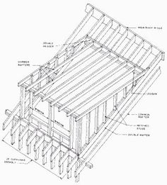 Dormer the attic with completely new roof trusses trusses for Mansard roof section