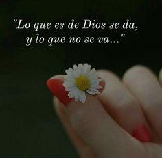 La perfección de Dios siempre se manifiesta. God, Floral, Quotes, Gifts, Grande, Christ, Word Of God, Qoutes Of Life, Prayers