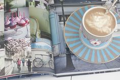 Traditional French Hot Chocolate from the Book Sweet Paris published by @HardieGrant