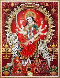 Maa Image, Maa Durga Image, Durga Kali, Shiva Shakti, Durga Images, Lakshmi Images, Easter Island Statues, Vaishno Devi, Kali Goddess