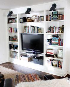 House Crashing: Textured U0026 Southwestern. Living Room BookcaseLiving ...
