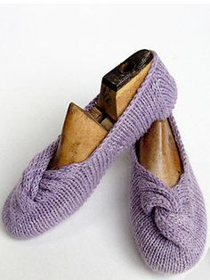 cocoknits knotted slippers