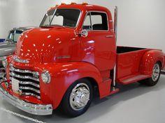 coe truck   1953 CHEVROLET COE restored custom