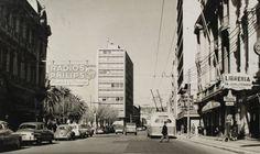 Calle Condell Valparaiso en 1966 Postal
