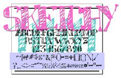 Sketchy by deFaced in 32 Cool Sketch Fonts