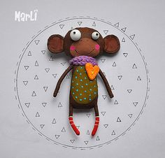 little monkey by MarLitoys on Etsy