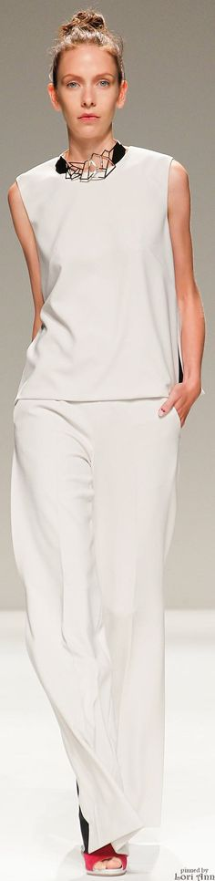 Bibhu Mohapatra ~ Casual White for  Spring
