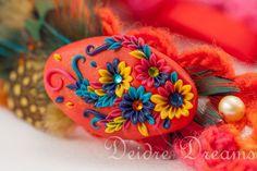 - SOLD - Luxury Hippie Flapper Feather Headband  Hippie by DeidreDreams, $60.00